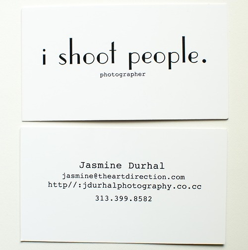 Fun business card!