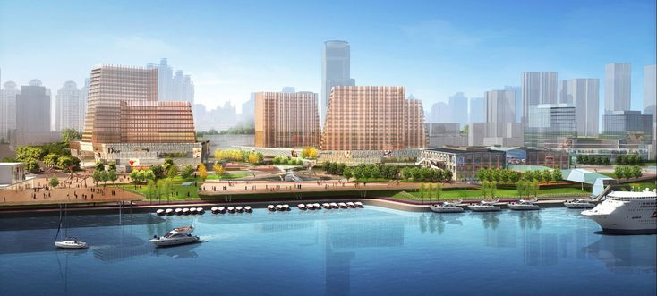 Gallery of Xin Hua Pudong Waterfront Development Winning Proposal / Inbo + NITA - 8