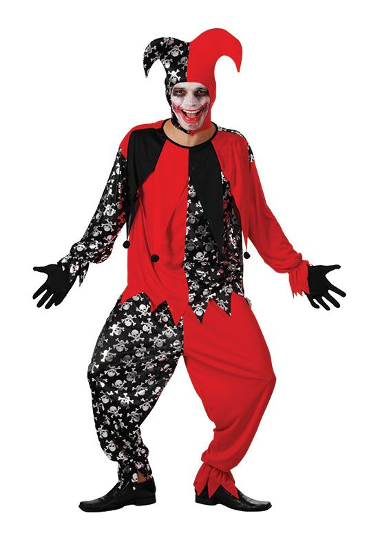 Evil Jester Costume  £18.99 : Direct 2 U Fancy Dress Superstore. Fancy Dress, Party Themes & Accessories For The Whole Family. http://direct2ufancydress.com/evil-jester-costume-p-7863.html