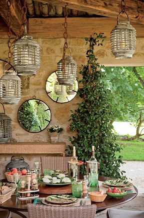 party lighting ideas. betty u0026 francois catroux provence france photos by halard elegant outdoor party lightinglighting ideasoutdoor lighting ideas