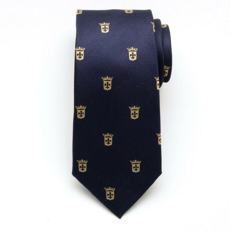 Krawat jedwabny (wzór 251)