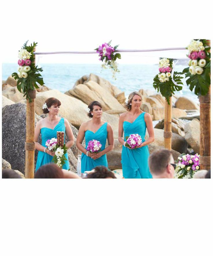 67 best tropical bridesmaid dresses images on pinterest for Tropical wedding bridesmaid dresses
