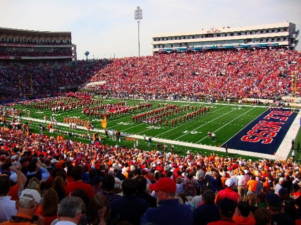 vaught-hemingway stadium amazing college stadiums