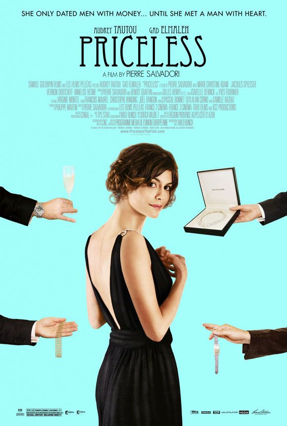 Priceless (2006)  French film with Audrey Tatou - funny little movie