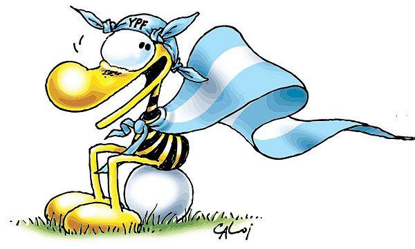 Clemente, gran personaje argentino dibujado por CALOI ♥