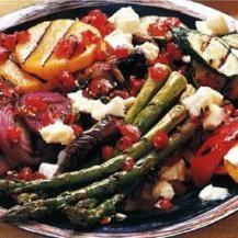 Chargrilled vegetable platter | Reader's Digest Australia