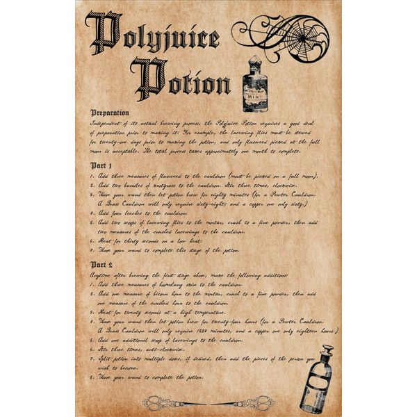 It's just an image of Crush Advanced Potion Making Printable