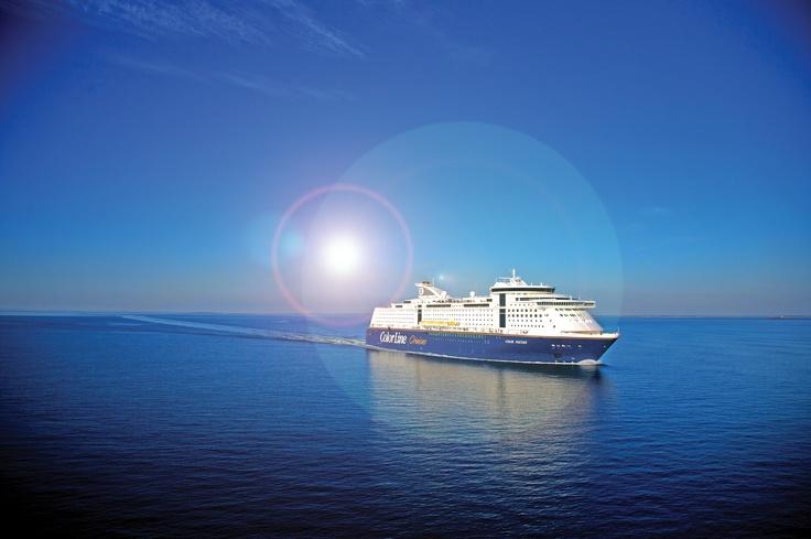 Unser Kreuzfahrtschiff Color Fantasy verkehrt auf der Route zwischen Kiel und Oslo über die Ostsee.
