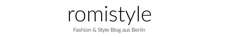 Outfit-Fotos selber machen - Mit Stativ und Fernauslöser zu tollen Bildern für den Fashionblog - romistyle