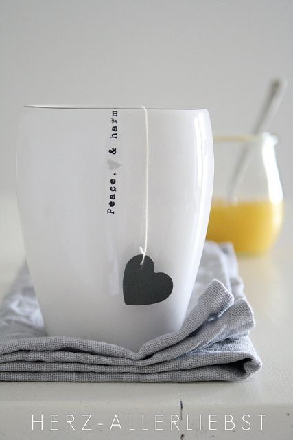 Yay I know this is tea but I loved the pic!  Mine would be filled with coffee!
