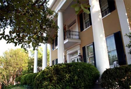 Anchua Historic Mansion and Inn.  Best bed and breakfast in Vicksburg, MS.