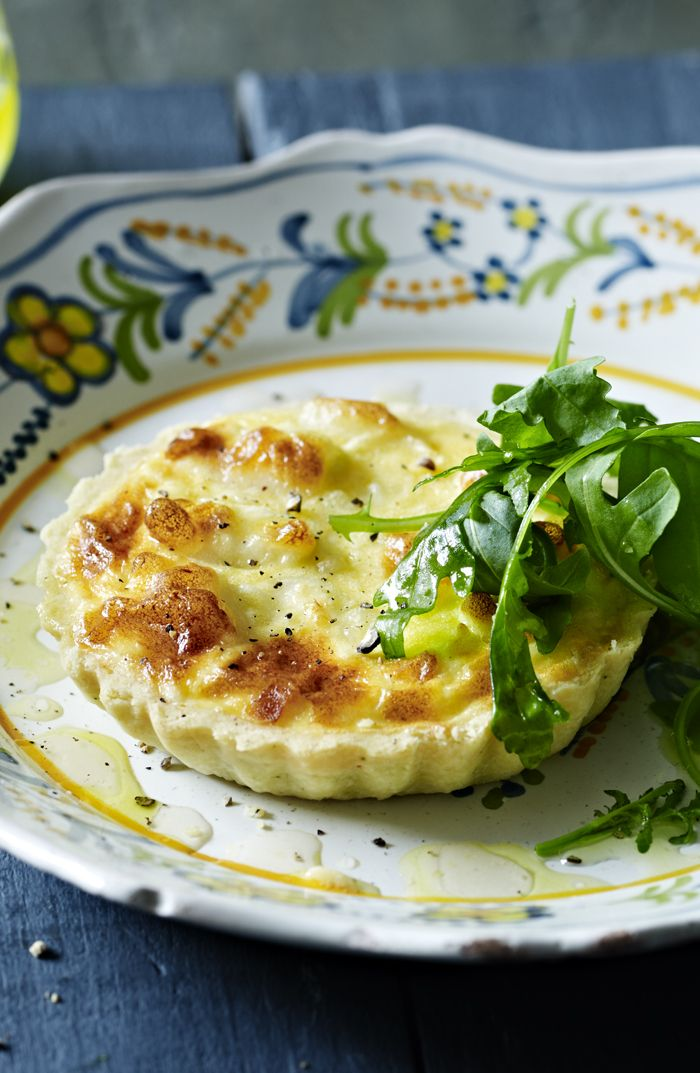 Knock their actual socks off with a goats' cheese and onion tart for a perfect dinner party.