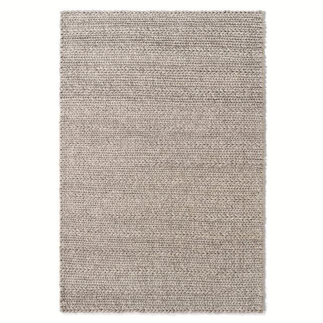 Tapis en pure laine, effet maille tressée, 3 tailles, Diano La Redoute Interieurs | La Redoute Mobile
