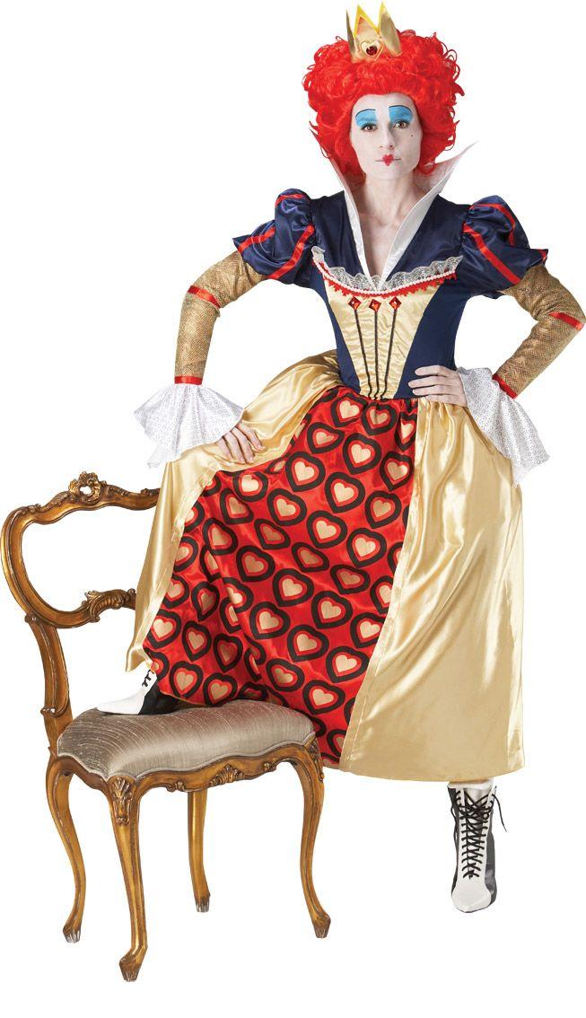 Déguisement Reine de Coeur™ femme : Deguise-toi, achat de Déguisements adultes