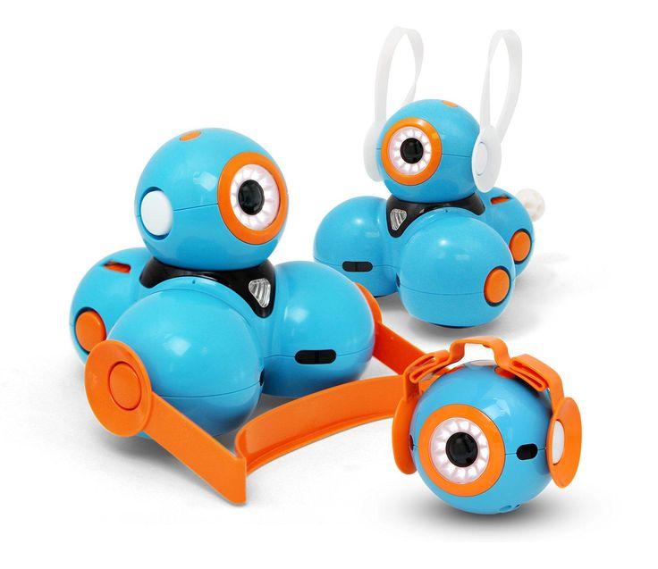 AmazonSmile: Wonder Workshop Dash & Dot Robot Wonder Pack: Toys & Games