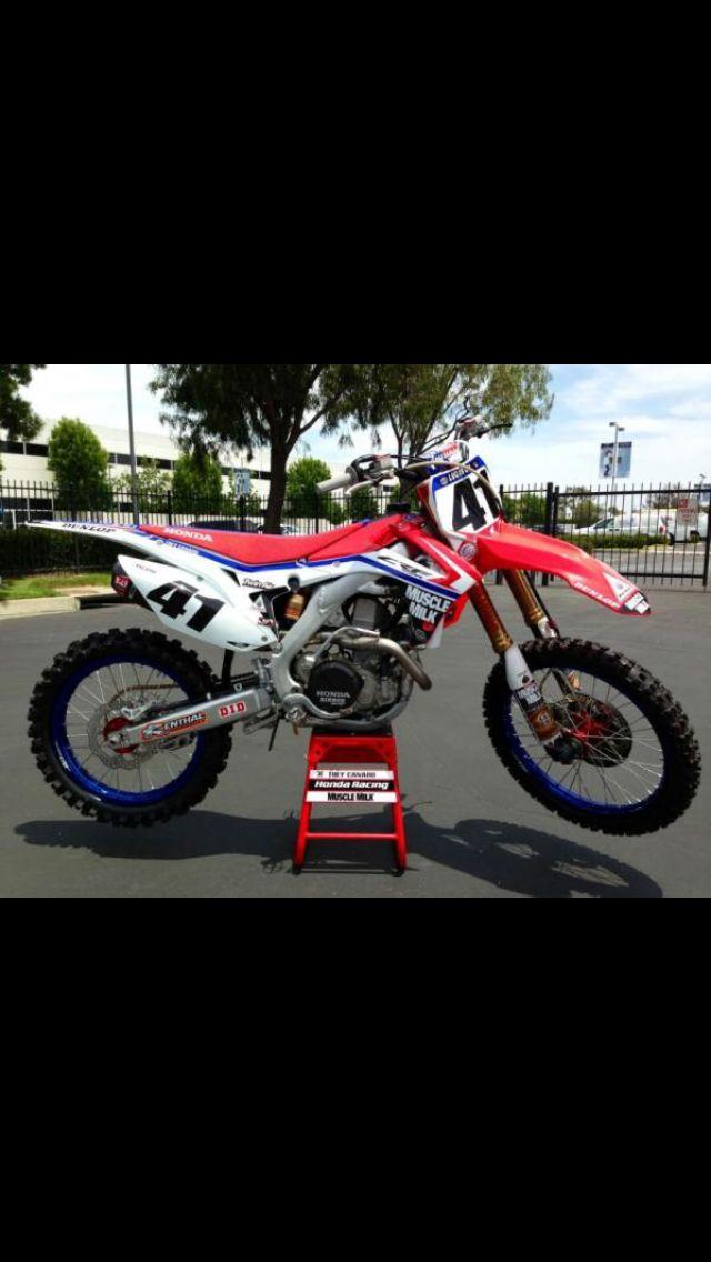 Dirt Biking Motocross Honda Motorcycles Bikes