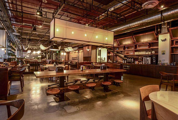 Interior design decoration restaurant dropbox
