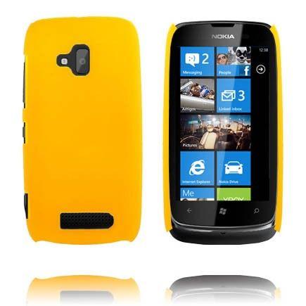 Hard Shell (Gul) Nokia Lumia 610 Deksel