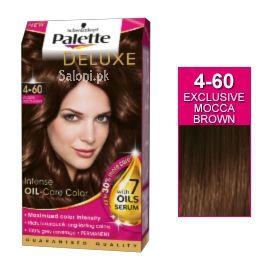 Schwarzkopf Palette Deluxe Intensive Oil Care Color Exclusive Mocha Brown 4-60