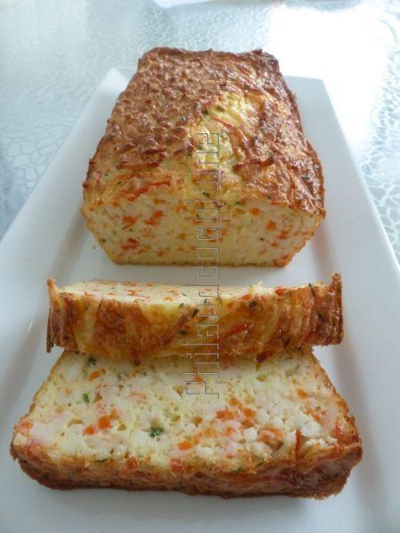 Cake extra moelleux et léger aux miettes de surimi