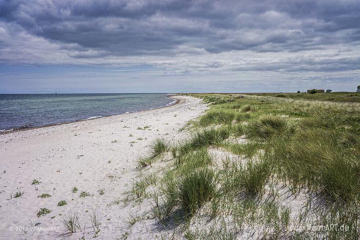 Die Halbinsel Oehe-Maasholm // #Ostsee #Maasholm #Halbinsel #SchleswigHolstein #MeerART / gepinnt von www.MeerART.de