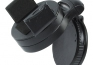 Universele telefoon / PDA / iPod houder    Bevestig uw PDA, mobiele telefoon of MP3-speler stevig in uw auto met deze universele telefoonhouder. De houder is eenvoudig te bevestigen en heeft een stevige grip. De houder kan 360° draaien, 90° kantelen en is verstelbaar.  • Max. breedte:76 mm