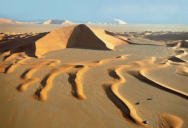 saudi arabia   ... of the star-shaped dunes of Rub' al-Khali desert in Saudi Arabia