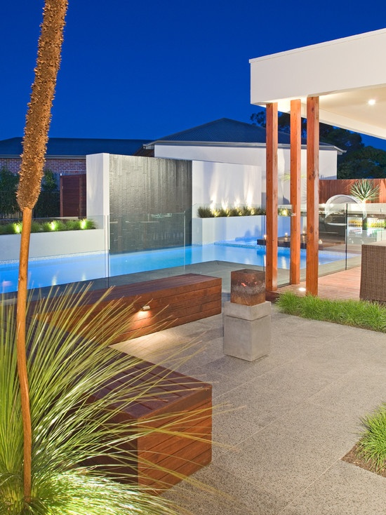 CONTEMPORARY POOLS Design, Pictures, Remodel, Decor and Ideas - page 19