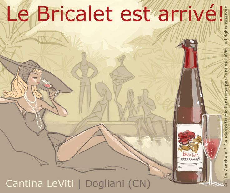 Le Bricalet est arrivé - an illustration for Cantina LeViti by studiofantasma.com