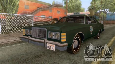 Ford LTD Custom 500 DNREC 1975 para GTA San Andreas