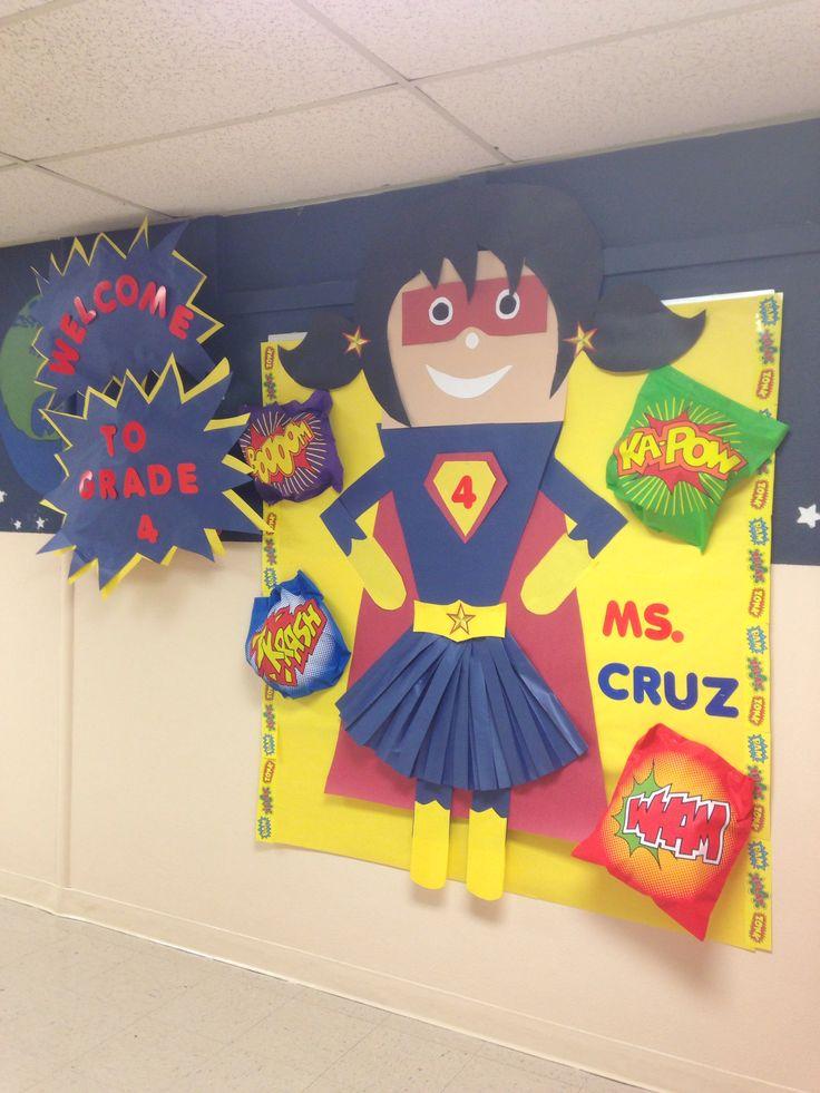 Classroom Ideas Superheroes : Best superhero classroom images on pinterest