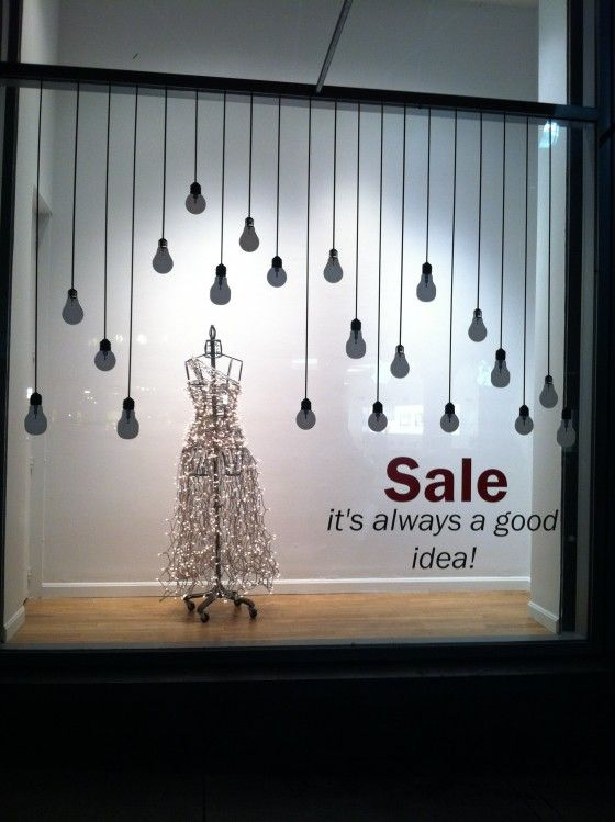 christmas sale window decal
