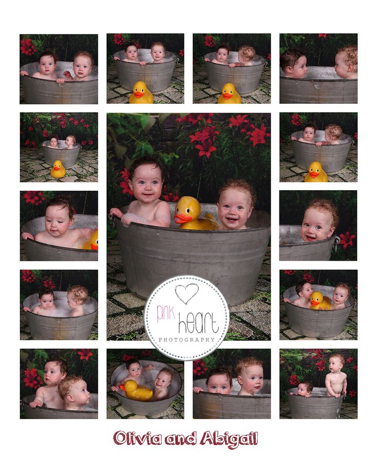 Bath splash session included with our cake smash sessions .