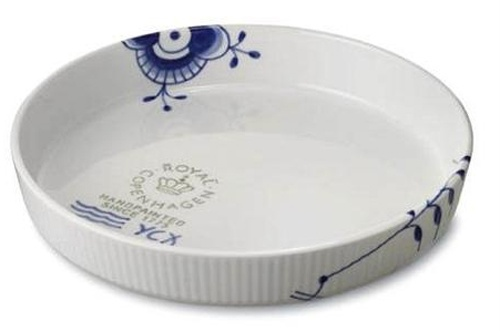 Blue Fluted Mega Pie/Casserole dish from Royal Copenhagen.  We bought this for my sister before leaving Denmark.