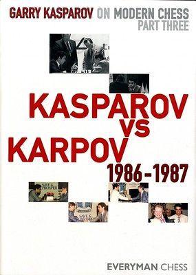 Garry kasparov on modern #chess: pt. 3: kasparov vs karpov #1986-19. #97818574462,  View more on the LINK: http://www.zeppy.io/product/gb/2/351920045685/