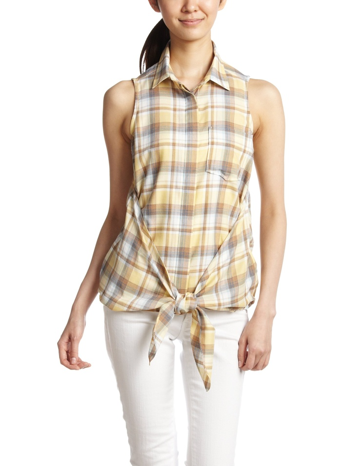 Amazon: (ダブルスタンダードクロージング)DOUBLE STANDARD CLOTHING バイオチェックノースリーブシャツ