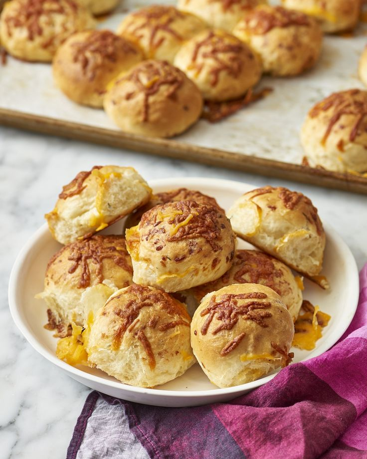 Recipe: Buttery Cheddar Herb Rolls — Thanksgiving Sides