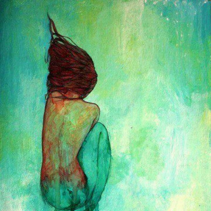 Watercolor mermaid | Art | Pinterest | Watercolors ...