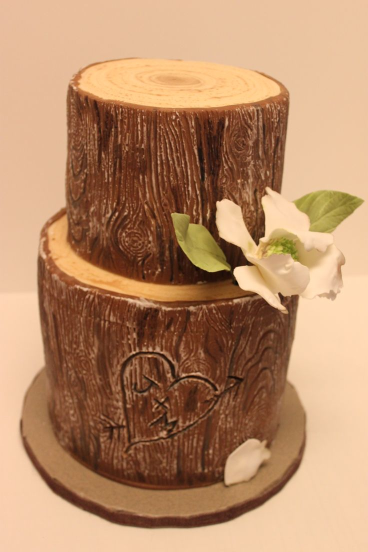 tree stump wedding cake j amp m 1st and only tree trunk cake i ve done and i 21255