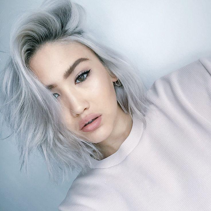 551 Best Silver White Platinum Hair Images On Pinterest