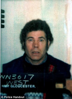frederick walter stephen west born 26 september 1941 died 1jan1995 aged 53 suicide by hanging victims 13+ killings july 1967_ june 1987 ,tortured and raped numerous young women 10 cromwell