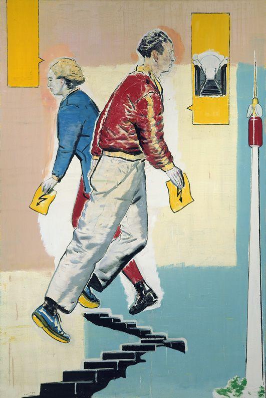 """Neo Rauch """"Stufen"""", 1999"""
