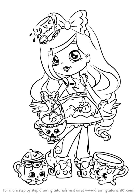 Image result for shoppies colouring (With images ...
