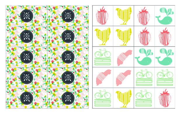 Planche Dominos