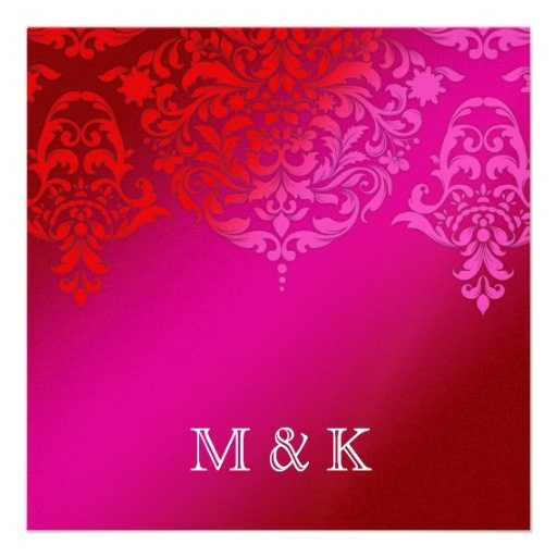 1000 images about Wedding Invitations – Pink and Red Wedding Invitations