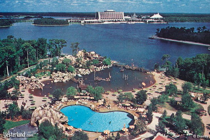 River Country at Walt Disney World- I feel so cheated that I never got to experience such wonderful things.. :(