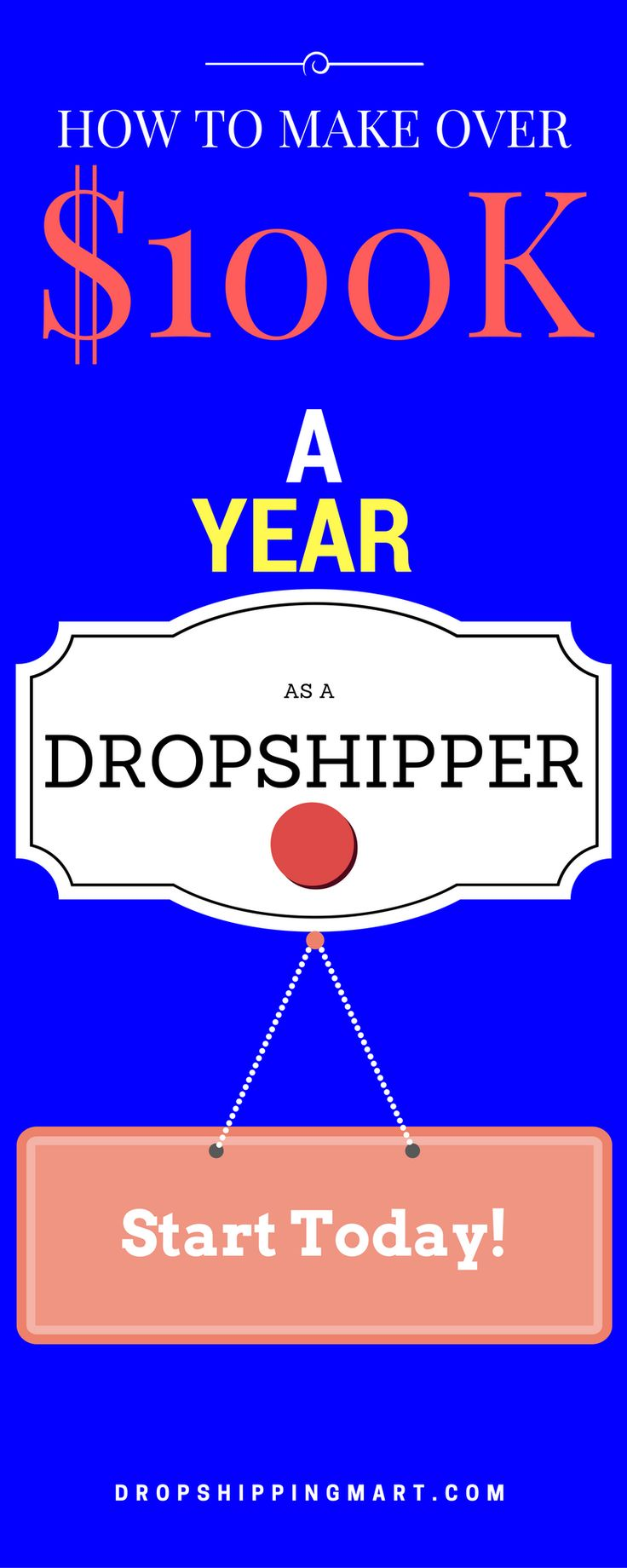 Make More Then 100k A Year With #dropshipping While It Can Take The Same  Amount