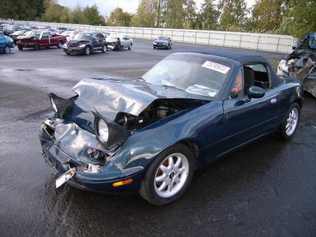 Wrecked MAZDA MX-5 MIATA #car #accident