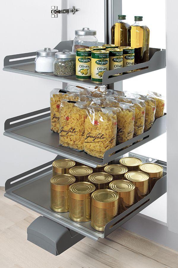Apothekerschrank Und Kuchenschrank Mit Frontauszug Fur Die