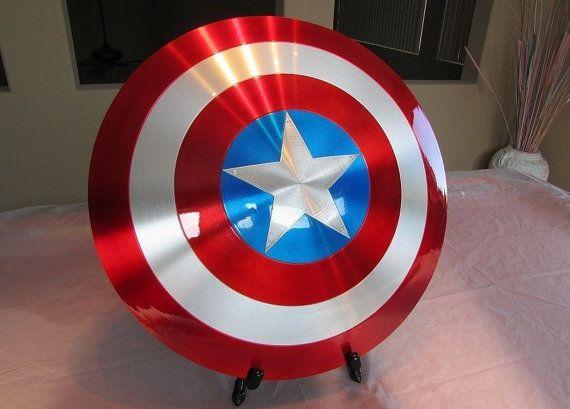 Metal Movie Shield Cosplay Super hero shield by MachinaProps